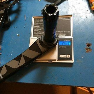 Gewicht SRAM Kurbel XX1 Eagle Gold 32er Kettenblatt
