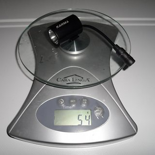 Gewicht Sigma Beleuchtung Karma Lampenkopf
