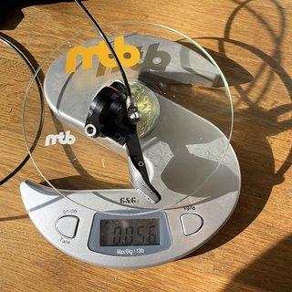 Gewicht Rotor Schalthebel 1x13 MTB