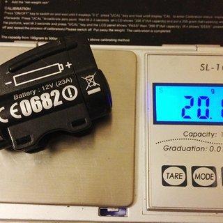 Gewicht Ciclo Sport Computer Sender (analog)