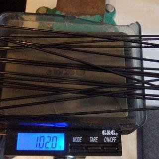 Gewicht Sapim Speiche Race 292mm, 16 Stück