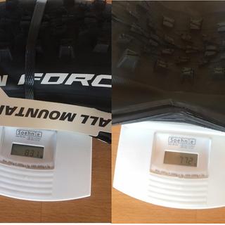 """Gewicht Michelin Reifen Michelin Force AM Competition 29""""   29x2,35 / 58-622"""