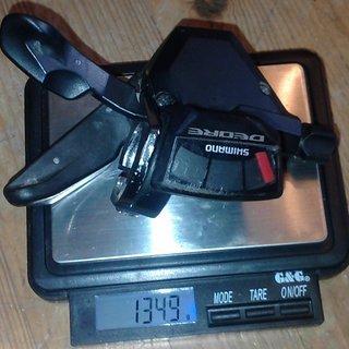 Gewicht Shimano Schalthebel SLX SL-M660