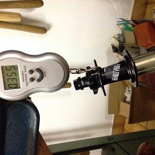 Gewicht Dartmoor Nabe Revolt Pro 135mm/10