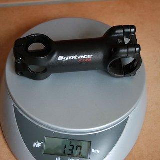 Gewicht Syntace Vorbau Force 149 31.8mm, 90mm, 6°