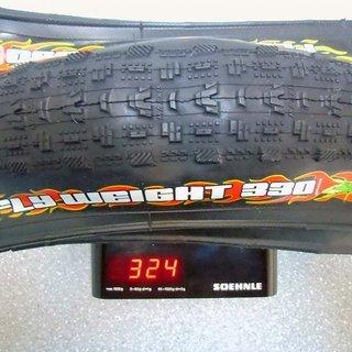 """Gewicht Maxxis Reifen Flightweight 330 26x1.95"""", 47x559"""
