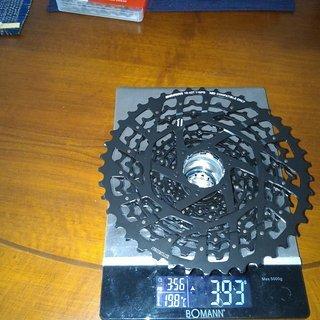 Gewicht SRAM Kassette XG-1150 10-42