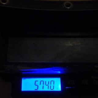 "Gewicht Mavic Felge EX 721 26"" / 21x559 / 32 Loch"