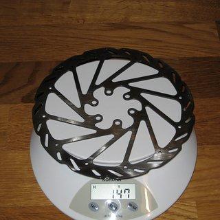 Gewicht Avid Bremsscheibe G2 CleanSweep 180mm