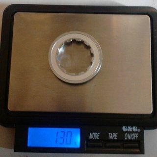 Gewicht Shimano Kassettenabschlussring XT CS-M760 11Z
