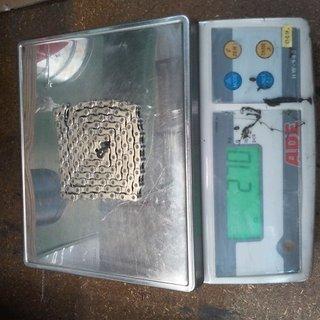 Gewicht SRAM Kette PC-1051 114 Glieder, 10-fach