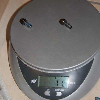Gewicht Magura Weiteres/Unsortiertes Bremssattelschrauben MT2