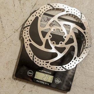 Gewicht TRP Brakes Scheibenbremse TRP Quadiem 200 mm