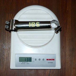 Gewicht IBS Vorbau Titanium 25.4mm, 130mm, 6°