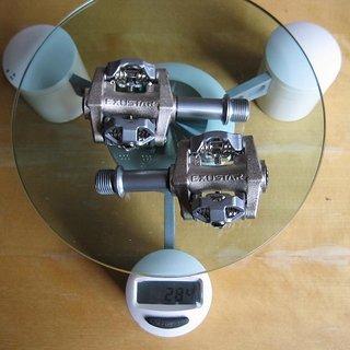 Gewicht Exustar Pedale (Klick) E-PM25