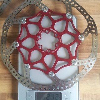 """Gewicht Formula Bremsscheibe 9"""" Aluminium Spider Bremsscheibe- Floating Disc 220mm"""