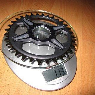 Gewicht Shimano Kettenblatt XT FC-M8100 32Z