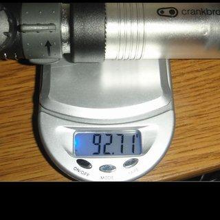 Gewicht Crank Brothers Werkzeug Power Pump 143mm