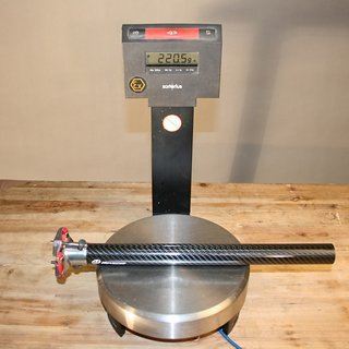 Gewicht Reverse Components Sattelstütze XC 3K Carbon 30,9 x 400