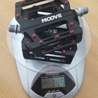 Gewicht Moove Components Pedale (Platform) Magnate Magnesium Flats