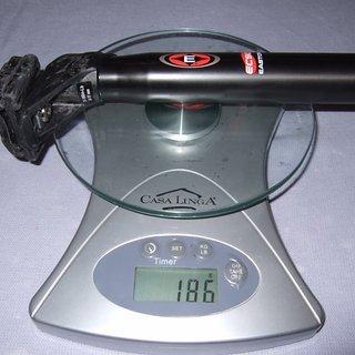 Gewicht Easton Sattelstütze EC90 Offset 31,6 x 350mm
