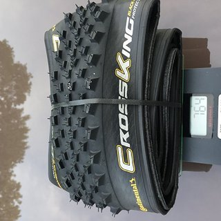 Gewicht Continental Reifen CrossKing Protection BCC 29 x 2,3