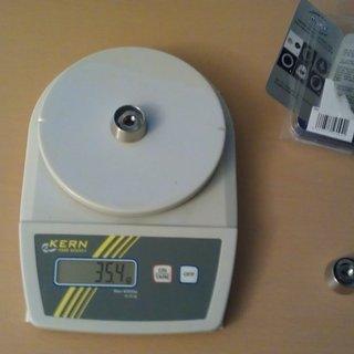 Gewicht Pitlock Weiteres/Unsortiertes Set SH38 für Shimano Getriebenabe (Einfach)