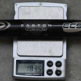Gewicht Easton Lenker EC 90 SL 25,4 x 560mm