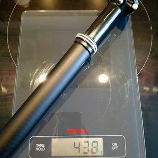 Gewicht Vecnum Sattelstütze höhenverstellbar NIVO 152 Indexed 152mm