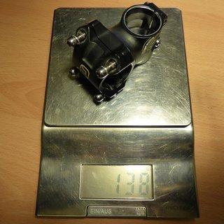 Gewicht FSA Vorbau Gravity Light 31.8 45mm, 6°