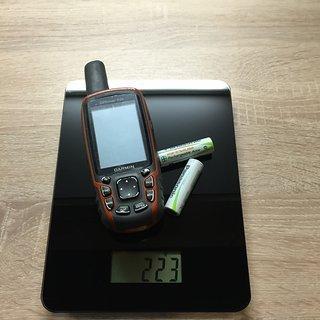 Gewicht Garmin GPS GPSmap 62s