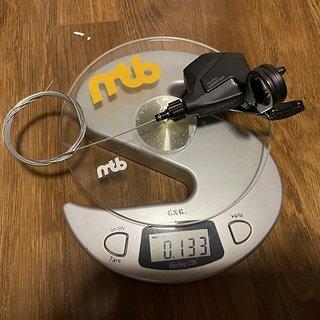 Gewicht MicroShift Schalthebel Advent X - SL-M9605-R