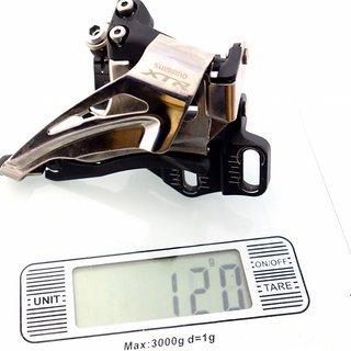 Gewicht Shimano Umwerfer FD-M9025 E-type
