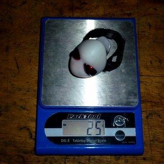Gewicht Topeak Beleuchtung AlienLux 4.8x3.5x3cm