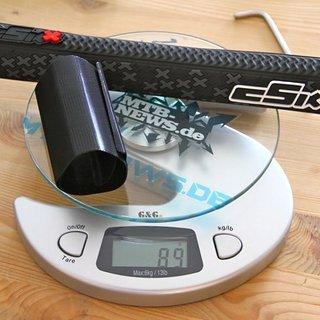 Gewicht cSixx Kettenschutz Chainstay Protector