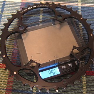 Gewicht FRM Kettenblatt Pro 104mm, 42Z