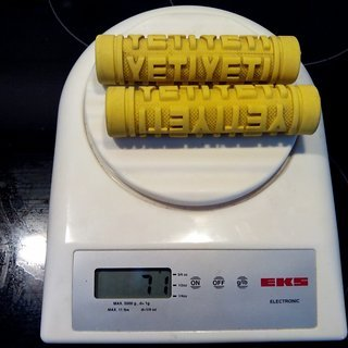 Gewicht ODI Griffe Yeti Speed Grips 120mm