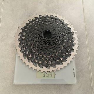 Gewicht SRAM Kassette XG-1295 10t-50t