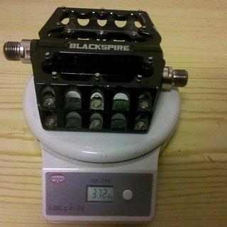 Gewicht Blackspire Pedale (Platform) SUB4 92x92x17mm