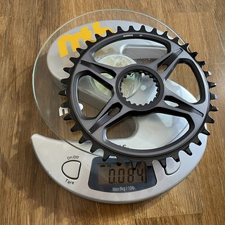 Gewicht Shimano Kettenblatt XTR FC-M9100 36t