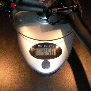 Gewicht Syntace Lenker-/Vorbau-Kombination VRO 680mm