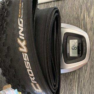 "Gewicht Continental Reifen Cross King Black Chili ProTection 29"" 2,2"