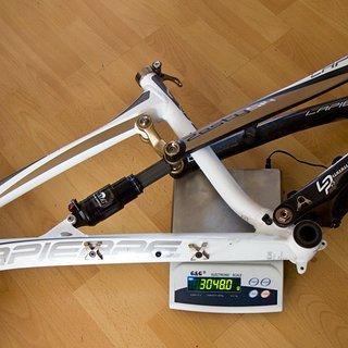 Gewicht Lapierre Full-Suspension Zesty 514 S