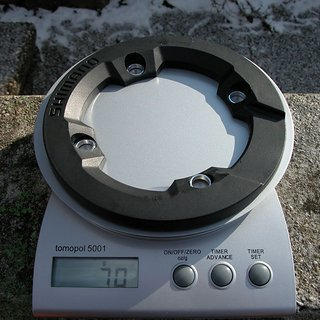 Gewicht Shimano Bashguard Saint 80Xer-Serie 32Z, 104mm