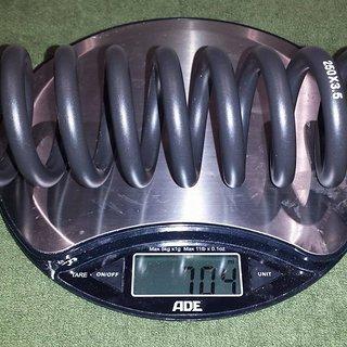 Gewicht Rock Shox Feder Stahlfeder für Kage/Vivid 267 mm 267 mm