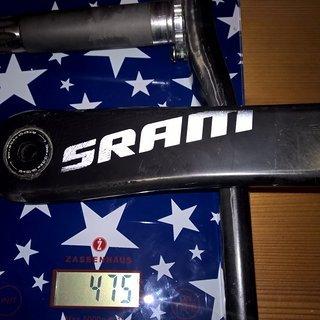 Gewicht SRAM Kurbel S2200 170mm, 68/73mm, GXP