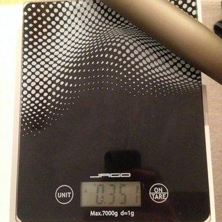Gewicht Renthal Lenker Renthal Fatbar 780mm 31,8mm 30mm rise 780mm 31,8mm 30mm rise