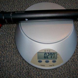 Gewicht Bontrager Sattelstütze Rhythm Elite 31,6 x 400mm