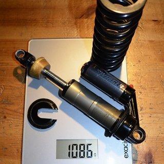 Gewicht Manitou Dämpfer Swinger 6way 222/70