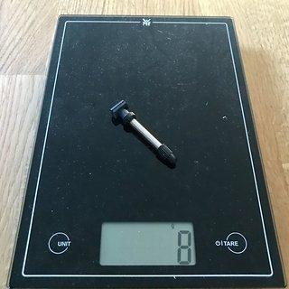 Gewicht DT Swiss Weiteres/Unsortiertes Tubeless Ventil 40mm